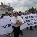 Фермерски протест: Бавят субсидии, закопаха ни
