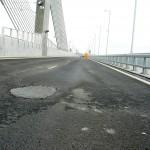 Ремонтират и преасфалтират новия мост на Дунав